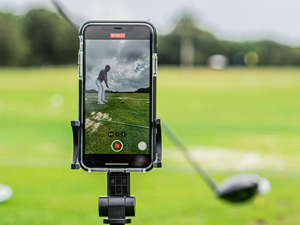 Caddie View: Golf Swing Analyzer, on sale for $56 when you use coupon code CMSAVE20 at checkout