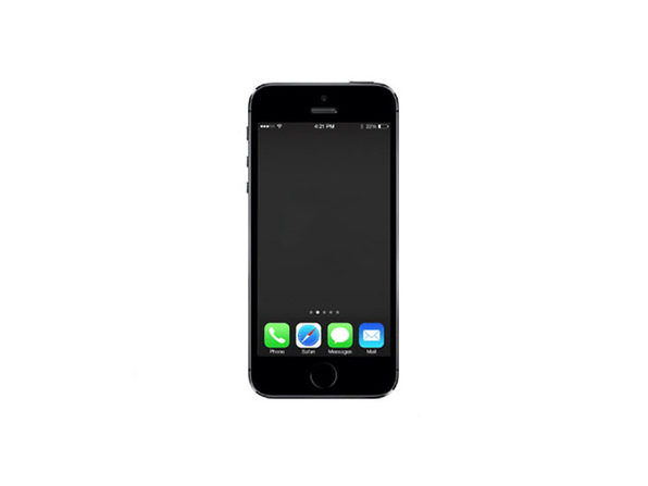 "Apple iPhone 5s 4"" 16GB GSM Unlocked 4G LTE/Wi-Fi Space Grey (Certified Refurbished/Grade A)"