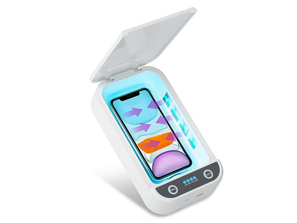 USB-Powered UV Phone Sterilizer with Aromatherapy