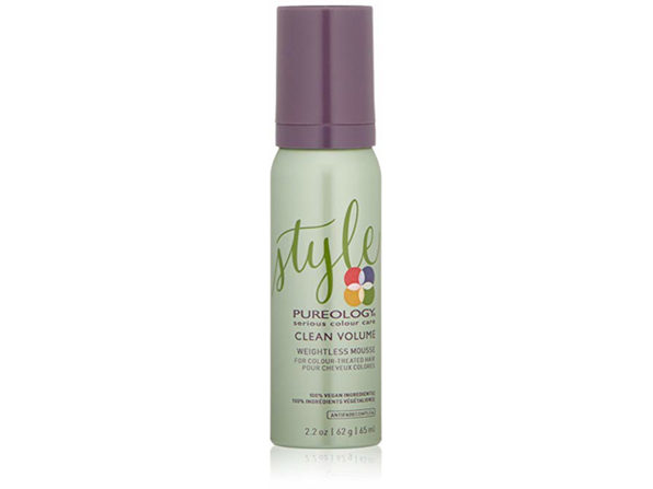 Pureology Clean Volume Weightless Mousse, 2.2 oz