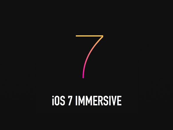 The Bitfountain iOS 7 Immersive - Product Image