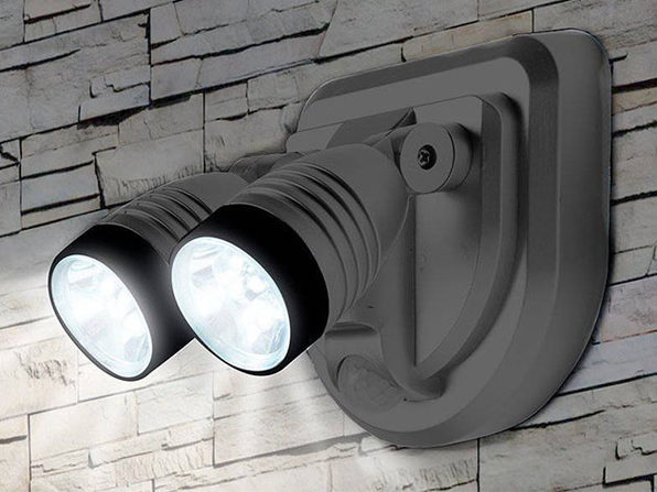 Dual LED 360 Degree Spotlight (Grey)