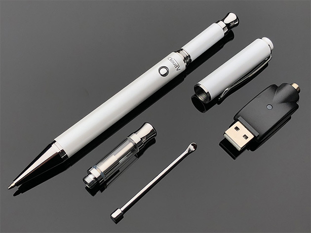 Cloud Vape Pen 2-in-1 Vaporizer (White) | StackSocial