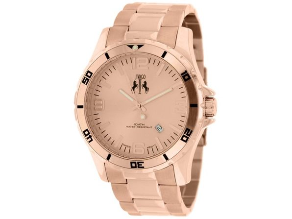 Jivago Men's Ultimate Rose Gold dial watch - JV6113