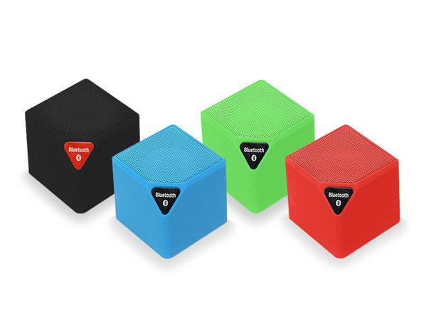 Bluetooth Portable Mini Qube Speaker