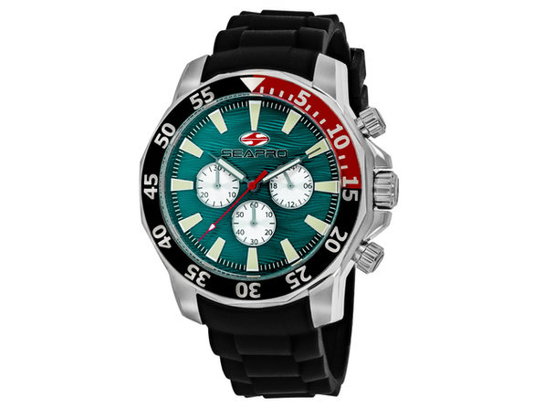 Seapro Men's Scuba Explorer Green Dial Watch - SP8334