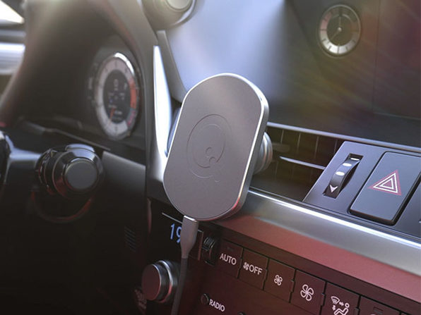 SoloQi® X Car/Desk Magnetic Wireless Charger