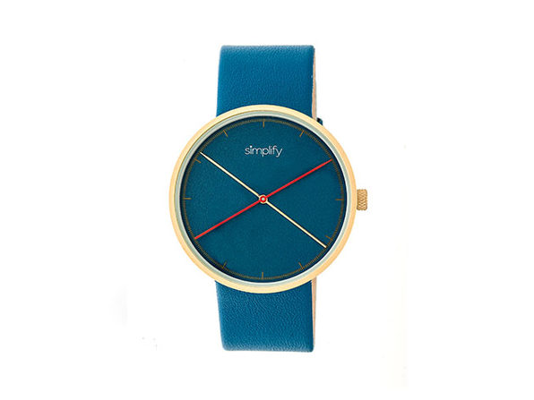 "Simplify ""The 4100 Series"" Men's Quartz Watch (Model 4107)"