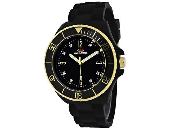 Seapro Women's Sea Bubble Black Dial Watch - SP7410 - Product Image