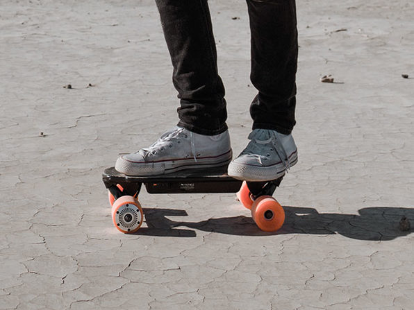Urban E-Skateboard: Basic Version (Orange)