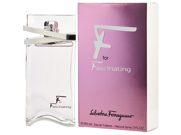 F FOR FASCINATING by Salvatore Ferragamo EDT SPRAY 3 OZ (Package Of 6) - Product Image