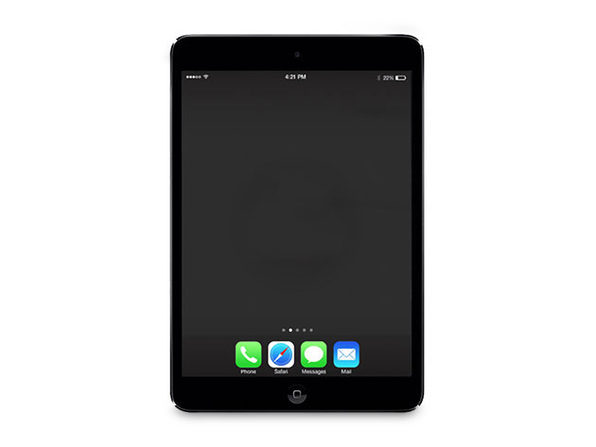 Refurbished iPad Mini 2 Retina WiFi Space Gray 128GB - Fair Condition - Product Image