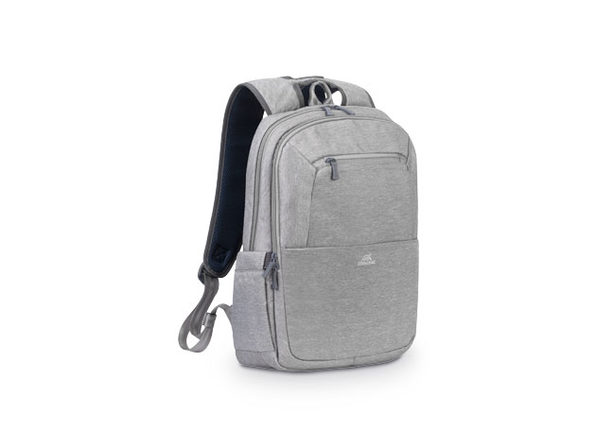 "RIVACASE 15.6"" Laptop Backpack (Gray)"