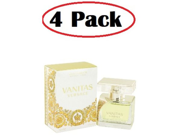 4 Pack of Vanitas by Versace Eau De Toilette Spray 1.7 oz - Product Image