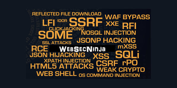 Become a Web Security Ninja: Lesser Known WebAttacks