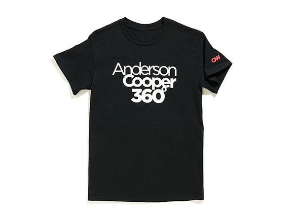 AC360 Tee Black S - Product Image