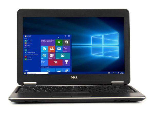 "Dell Latitude E7240 12"" Laptop, 1.6 GHz Intel i5 Dual Core Gen 4, 16GB RAM, 256GB SSD, Windows 10 Professional 64 Bit (Renewed)"