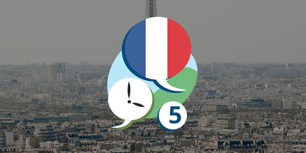 3 Minute French - Course 5: Language Lessons for Beginners - Product Image