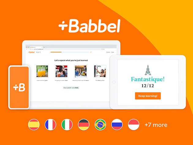 Stack Social Deal for Babbel Language Learning: Lifetime Subscription