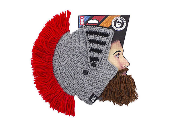 Beard Head® The First Ever Bearded Headwear: Barbarian Knight