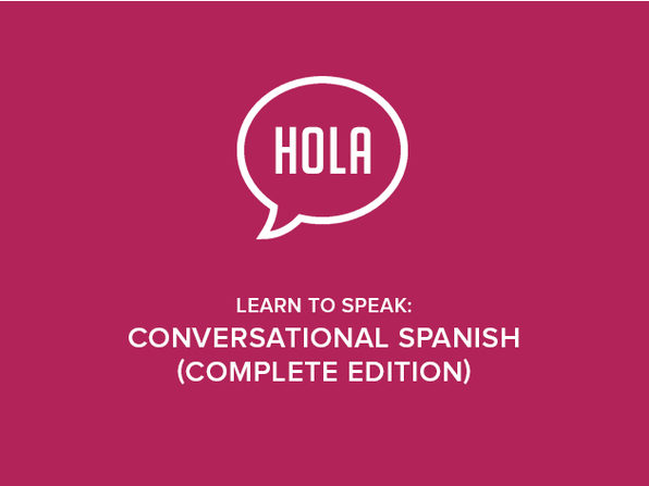 Learn to Speak: Conversational Spanish (Complete Edition) - Product Image
