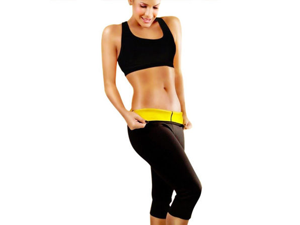 Slimming Shaper Capri Pants