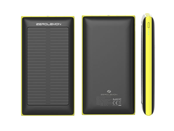 ZeroLemon SolarJuice 10000mAh Battery  | Cult of Mac Deals