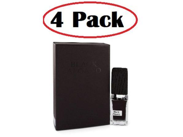 4 Pack of Black Afgano by Nasomatto Extrait de parfum (Pure Perfume) 1 oz - Product Image
