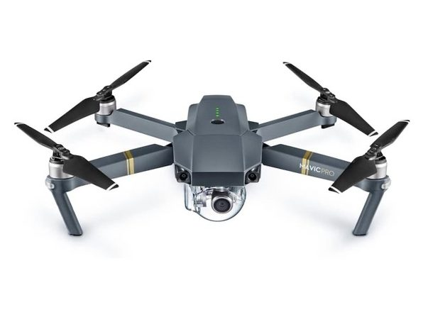 DJI Mavic Pro Quadcopter with Remote Controller Gray
