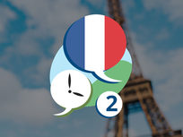 3 Minute French - Course 2: Language Lessons for Beginners - Product Image