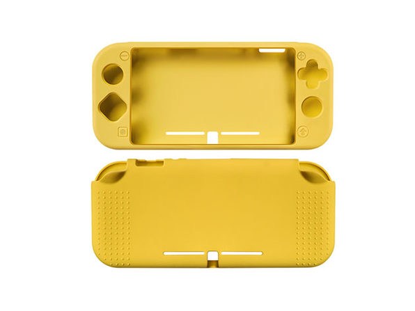 Silicone Case for Nintendo Switch Lite (Yellow)