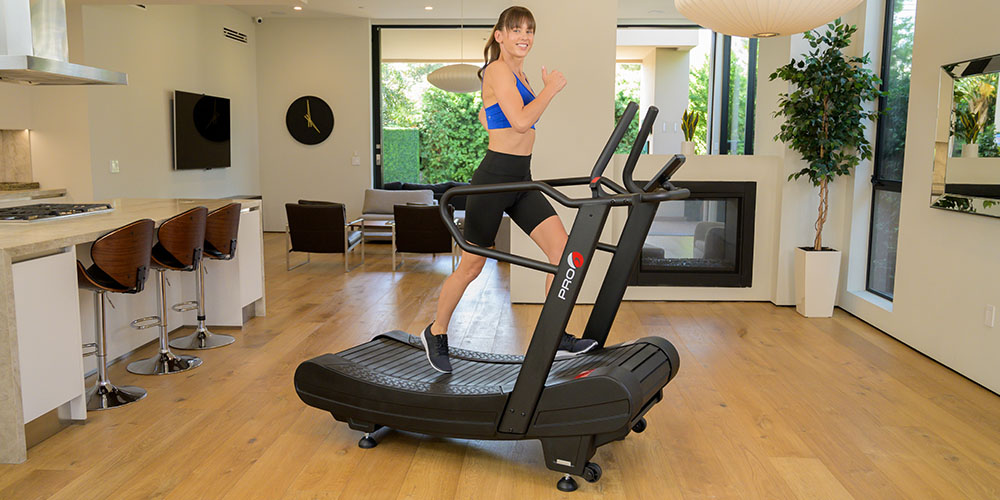 PRO 6 Arcadia Air Runner Non-Motorized Treadmill, on sale for $4395 with code STAIRMILL100