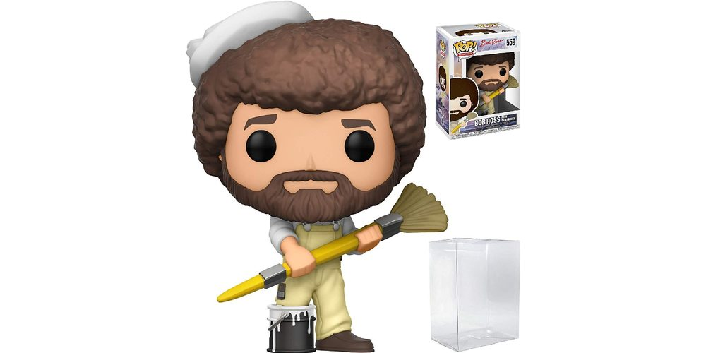 Funko Pop! TV Bob Ross The Joy Of Painting Bob Ross w/ Paintbrush, on sale for $14.94 (9% off)