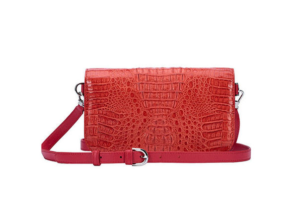 Andre Giroud Exotic Alligator Clutch Bag