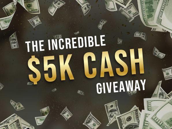 Enter the U$ 5K cash giveaway here.