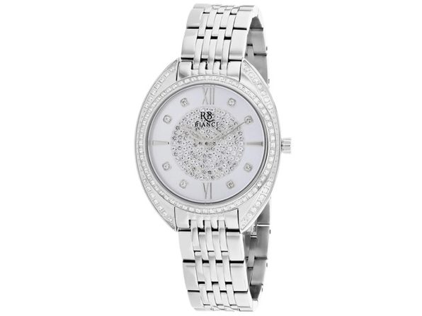 Roberto Bianci Women's Aveta Silver Dial Watch - RB0210 - Product Image