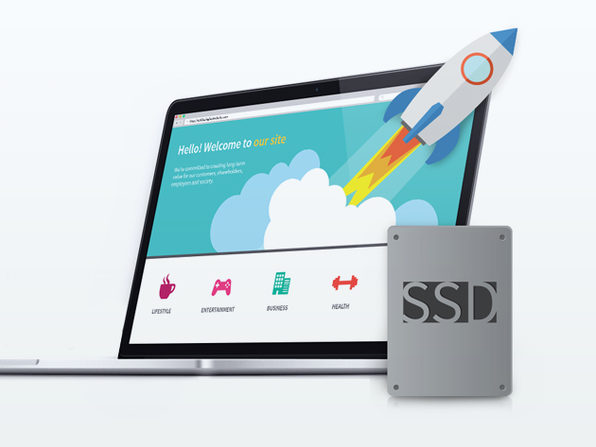 6 Months of SSD 100 hosting from Doteasy - Product Image