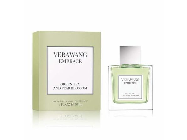 Vera Wang Embrace Sophisticated and Intimate, Green Tea and Pear Blossom, Eau de Toilette Perfume, 1.0 Fluid Ounce - Product Image