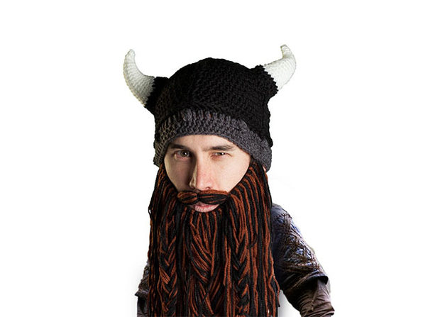 Beard Head® The First Ever Bearded Headwear: Barbarian Pillager
