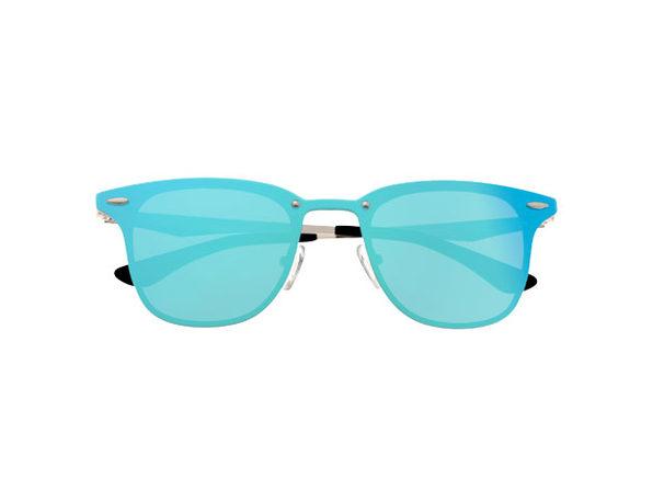 Infinity Sunglasses - Light Blue