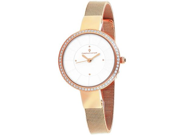 Christian Van Sant Women's Reign Silver Dial Watch - CV0221 - Product Image