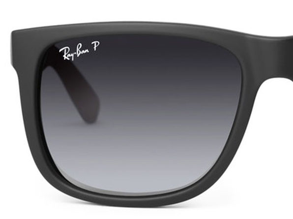 70b19daff38 Ray-Ban Justin Classic Black Polarized Sunglasses