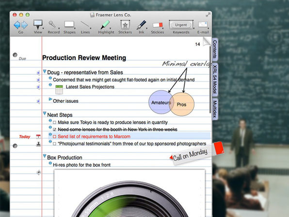 NoteBook 4: The Macworld Award-Winning Note Taking & Organizing Software  | Cult of Mac Deals