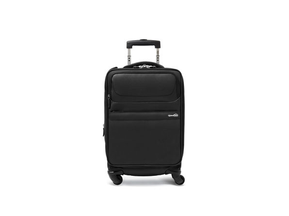 Genius Pack G4 Carry-On Spinner Case (Titanium)
