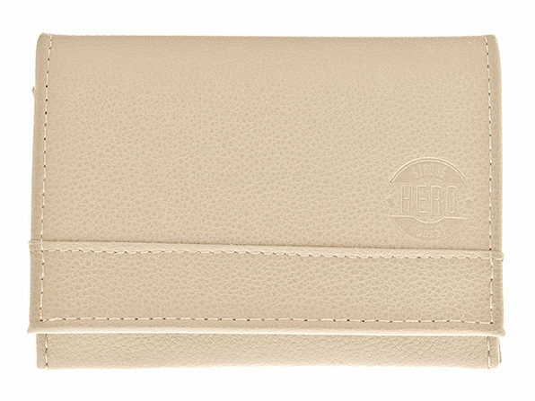 Hero Goods: James Bi-Fold Wallet (Cream)