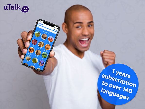 uTalk Language Learning: 1-Yr Subscription