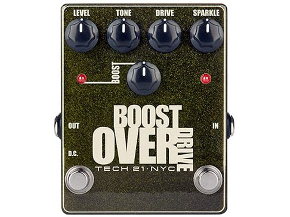 Tech21 All Analog Circuitry Boost Overdrive High-Impedance Input Effects Pedal (Used, Damaged Retail Box)