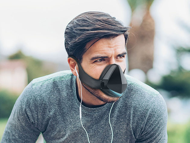 This Innovative Face Mask Stops Germs, Odors, and Fogged-Up Glasses 4