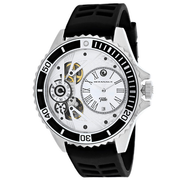 Oceanaut Men's Tide Silver Dial Watch - OC0990