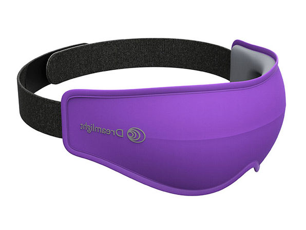 Dreamlight Ease Light: World's Best Light-Blocking Eye Mask (Purple)